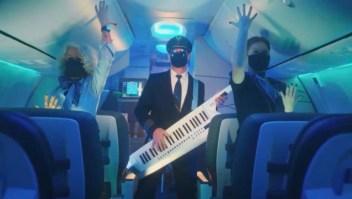 Alaska Airlines creó un baile sobre las medidas covid-19