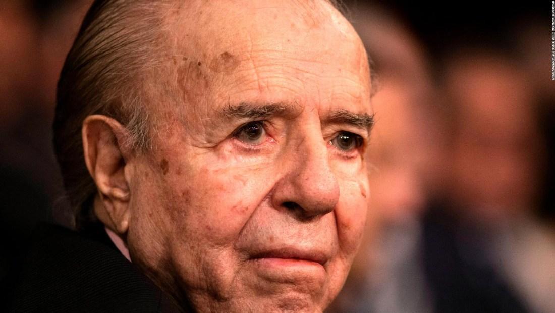 ¿Qué dijo el médico personal de Carlos Menem?
