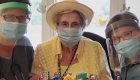 Tiene 107 años y venció al covid-19