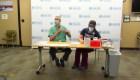 Reacción alérgica en vacunado contra covid-19 en Alaska