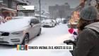 Así está New Jersey bajo la tormenta de nieve