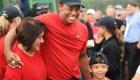 Tiger Woods e hijo, juntos en un torneo