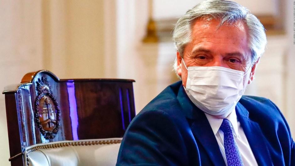 Alberto Fernández: La vacuna rusa va a llegar