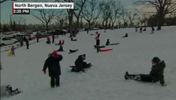 La otra cara de la tormenta de nieve en Nueva Jersey