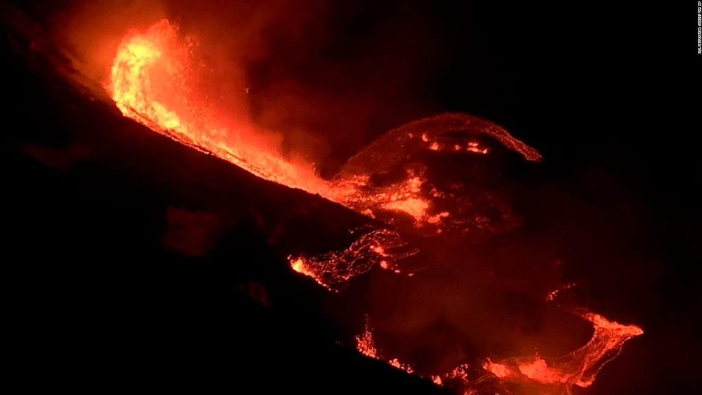 Así hizo erupción el volcán Kilauea