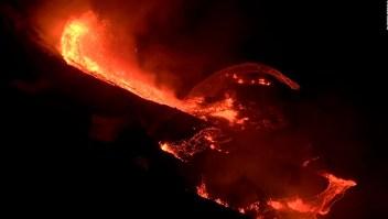 El volcán Kilauea de Hawai, en erupción