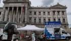 Así combaten el aumento de casos de covid-19 en Uruguay