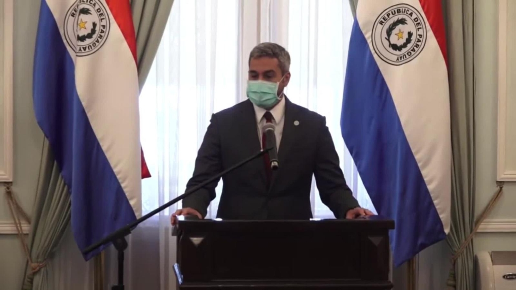 Paraguay ordena uso obligatorio de mascarilla