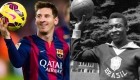 Messi supera a Pelé y agrega otro récord a su colección
