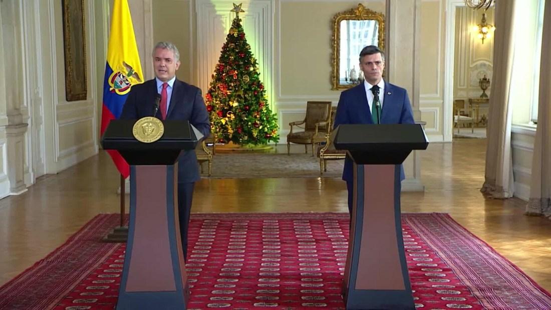 Duque cuenta por qué invitó a Leopoldo López a su programa de televisión