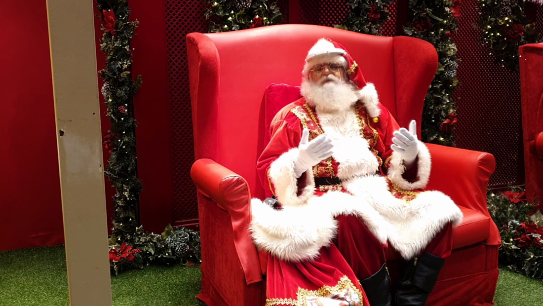 Malos tiempos para ser Santa Claus en Brasil