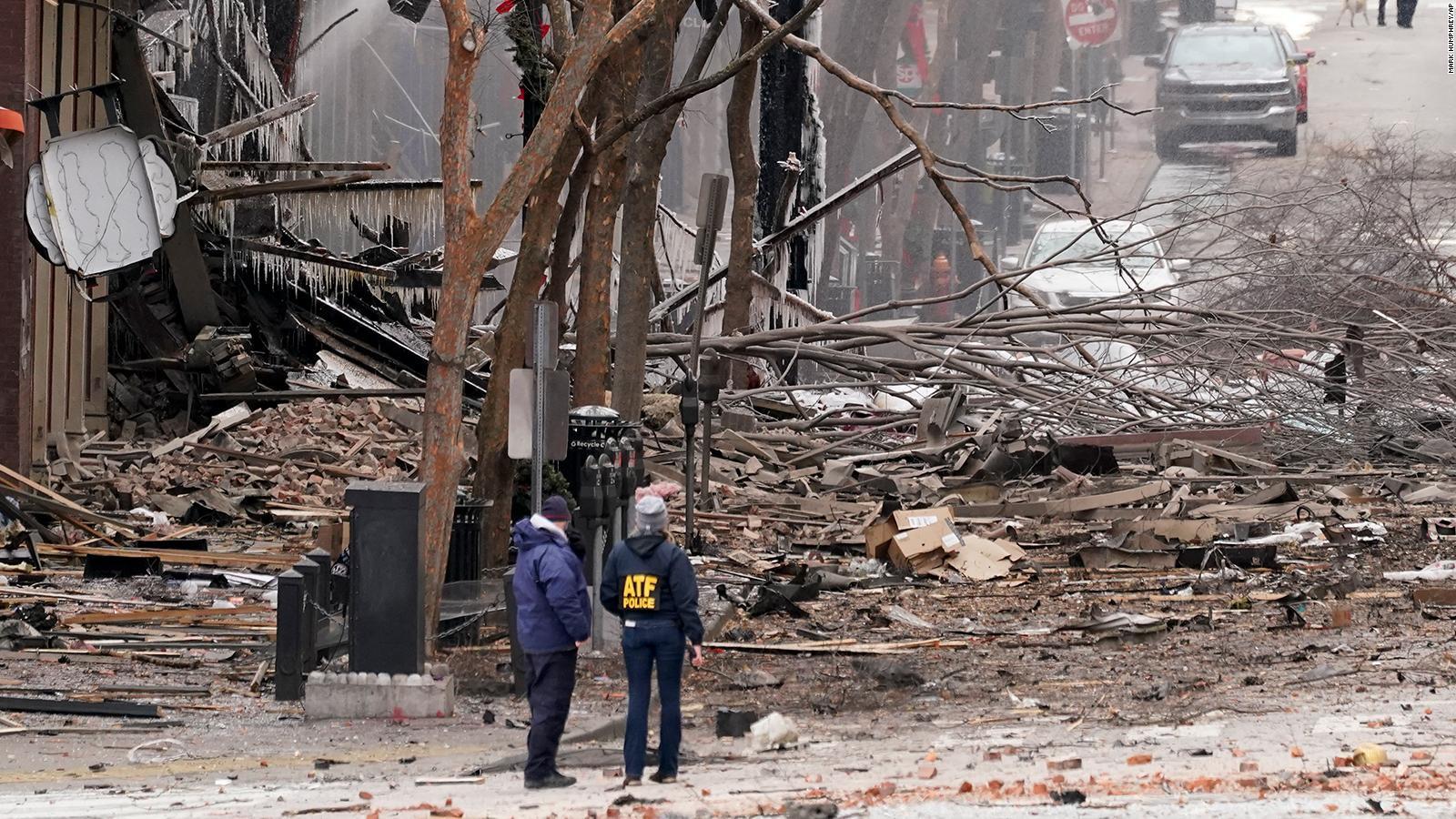 Nashville: identified as responsible for the Christmas explosion |  Video