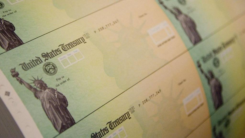 Cheques de estímulo podrían llegar hasta los US$ 2.000