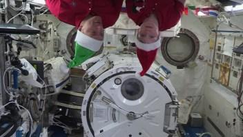 Así celebraran el fin de año en el espacio