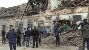 Videos del terremoto en Croacia, buscan víctimas entre escombros