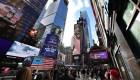 Un año nuevo diferente en Times Square