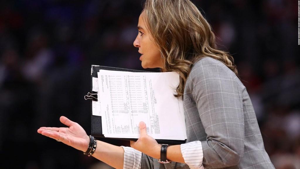 La primera mujer en dirigir un equipo de la NBA