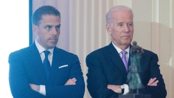 Hunter Biden y Joe Biden