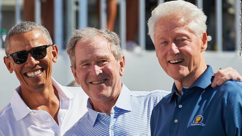 Obama Bush Clinton