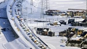 Japón atasco tráfico