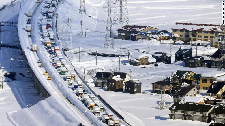 Κυκλοφοριακή συμφόρηση της Ιαπωνίας