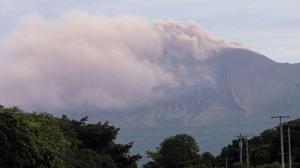 volcán Nicaragua