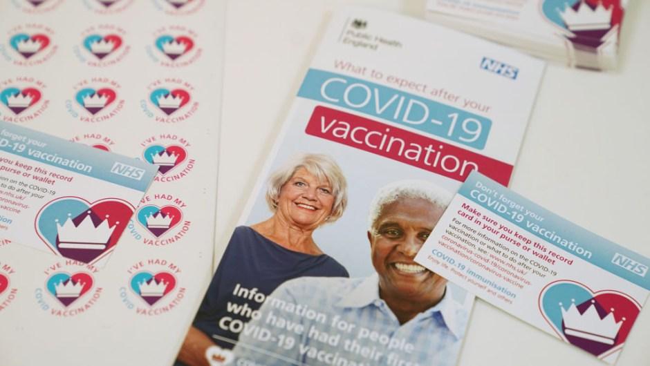 vacunación covid Reino Unido