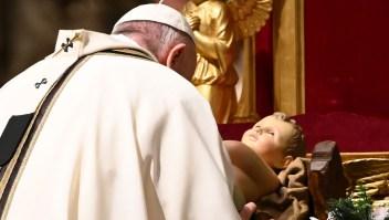 Papa Francisco en el Vaticano, Misa de Gallo 2020