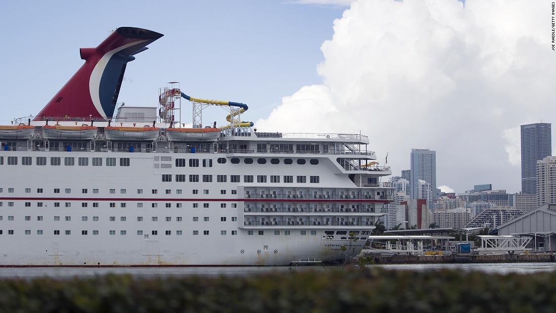 Carnival cancela todos los cruceros restantes hasta febrero de 2021
