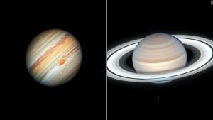 Júpiter y Saturno se acercarán más que desde la Edad Media