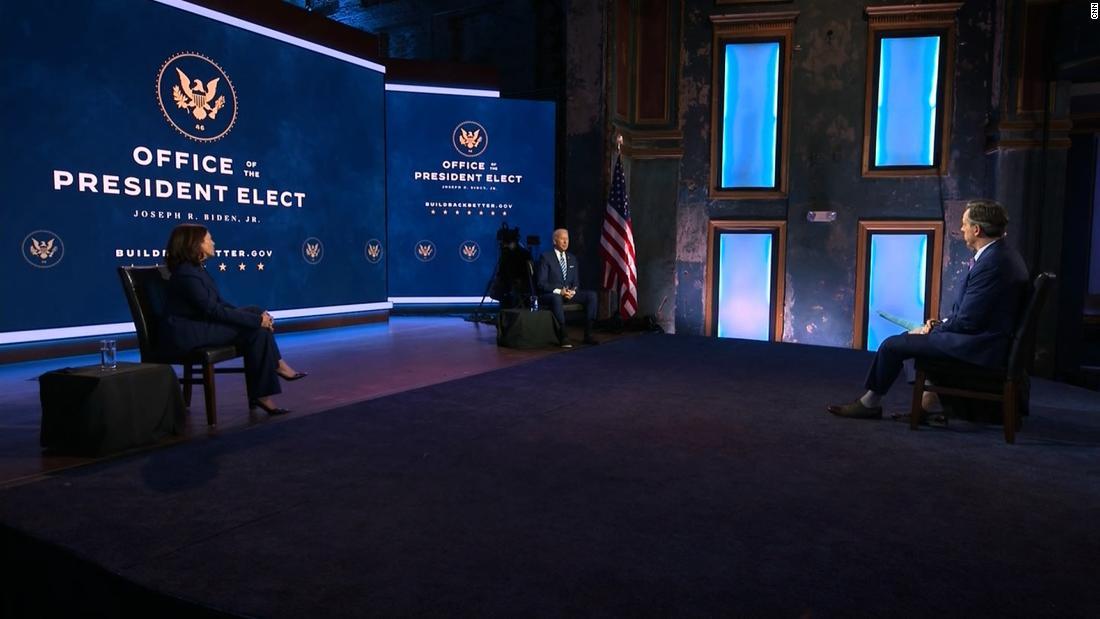 ANÁLISIS   'No hay noticias falsas': Biden y Harris se sientan para una entrevista 'muy normal' con Jake Tapper de CNN