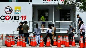Florida llegó al millón de casos de covid-19