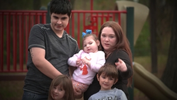 Desgarrador dilema por proteger a su hija del covid-19