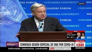 Trump no asistirá a la sesión de la ONU sobre covid-19