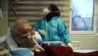 Dentro de un hospital iraní enfrentando el peor brote de covid-19