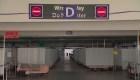 En Nevada crearon una sala de cuidados intensivos para covid-19 en un estacionamiento