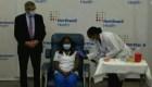 Primera vacunación contra el covid-19 en EE.UU.