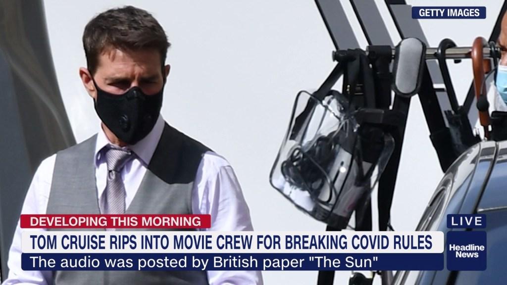 Tom Cruise habría regañado a equipo por incumplir medidas