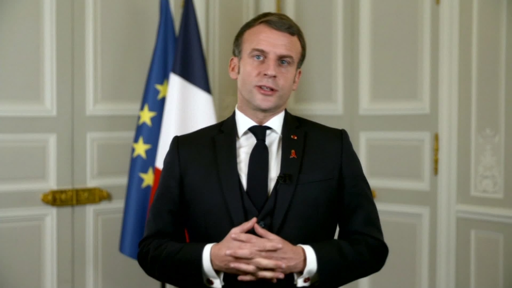 Emmanuel Macron da positivo por covid-19