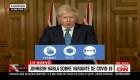 Johnson: Tomamos acciones contra la nueva variante de covid-19