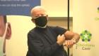 Biden recibe la vacuna contra el covid-19