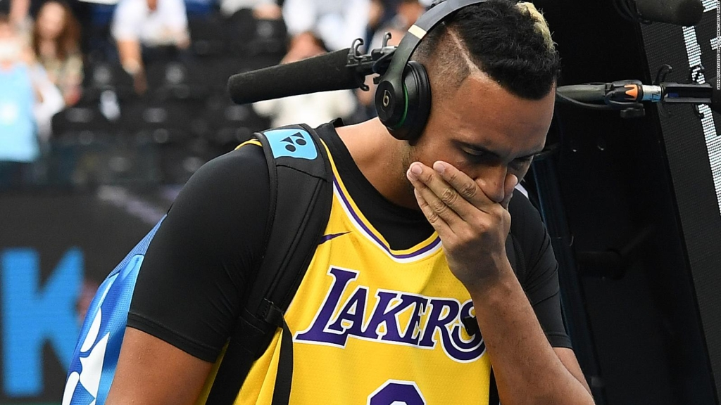 La admiración de Nick Kyrgios por Kobe Bryant