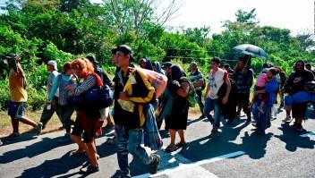 Migrantes varados en México, dispuestos a llegar a EE.UU.