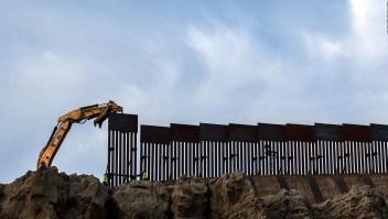 México celebra freno al muro fronterizo