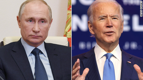 Biden confronta a Putin en su primera llamada telefónica