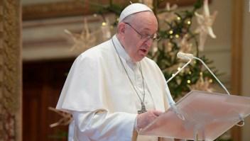 Francisco rezó el Ángelus y pide un 2021 solidario