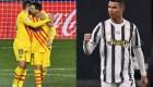 Messi y Cristiano Ronaldo brillan en comienzo de 2021