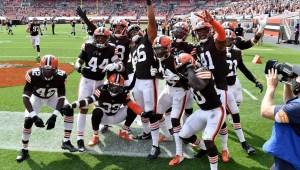 NFL: Cleveland, a la postemporada por primera vez desde 2002