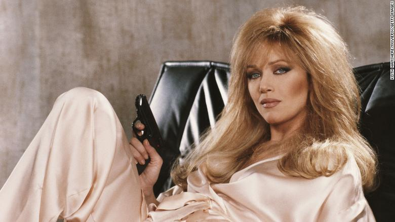Tanya Roberts como Stacey Sutton en 'A View to a Kill'.