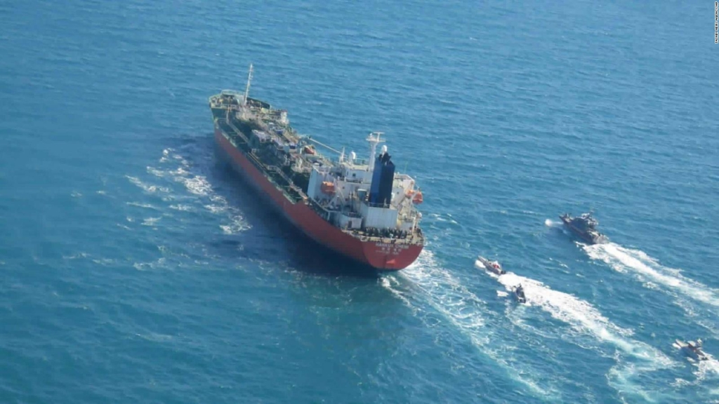 Este es el petrolero incautado por Irán